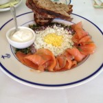 Clark's Oyster Bar - Dish 2 (Smoked Salmon Plate)