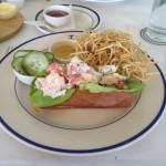 Clark's Oyster Bar - Dish 3 (Lobster Roll)